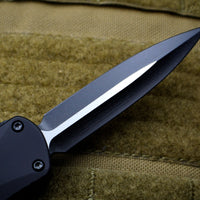 Heretic Manticore-E OTF Auto Black Double Edge With Two Tone Black Blade Numbered Proto