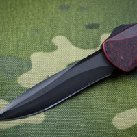 Heretic Manticore-S OTF Auto Breakthrough Red Handle DLC Recurve Edge Blade H025-6A-BRKRD