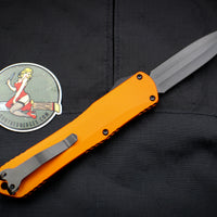 Heretic Manticore-X OTF Auto Orange Double Edge With DLC Blade H032-6A-ORG