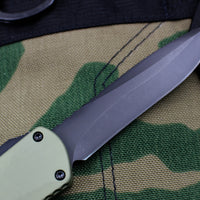 Heretic Manticore-X OTF Auto Green Recurve Edge With DLC Blade H033-6A-GR