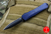 Heretic Manticore-X OTF Auto Breakthrough Blue Double Edge With DLC Blade H032-6A-BRKBL