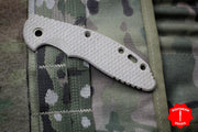 "Hinderer XM-18 3.5"" Scale-Textured- Natural Micarta"