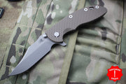 "Hinderer XM-18 3.5"" Bowie FDE G-10 Working Finish Blade Gen 6 Tri-Way Pivot System"