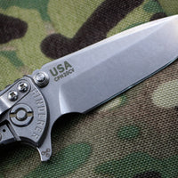 "Hinderer XM-18 3.0"" OD Green G-10 With Stonewash Spearpoint Edge Gen 6 Tri-Way Pivot System"