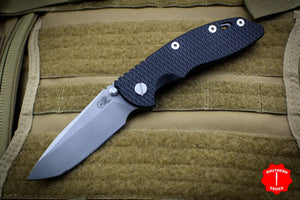 "Hinderer XM-18 3.5"" Non-flipper Black G-10 Spearpoint Working Finish Gen 6 Tri-Way Pivot System"