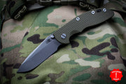 "Hinderer XM-18 3.5"" Non-flipper OD Green G-10 Spearpoint Working Finish Gen 6 Tri-Way Pivot System"