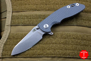 "Hinderer XM-18 3.0"" Skinny Gray G-10 With Stonewash Sheepsfoot Edge Gen 6 Tri-Way Pivot System"