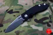 "Hinderer XM-18 3.0"" Skinny Black G-10 With Stonewash Slicer Edge Gen 6 Tri-Way Pivot System"