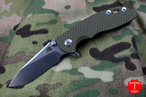 "Hinderer XM-18 3.0"" Skinny OD Green G-10 With Stonewash Slicer Edge"