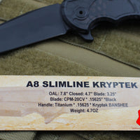 Hoback A8 Slimline DLC Black Blade and Special Kryptek Banshee Body
