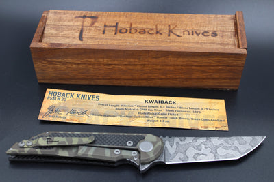 Hoback Kwaiback Folder CF Brown/Green Ano
