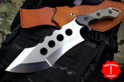 Marfione Custom Juggernaut Fixed Two-Tone Satin Blade 317-MCK