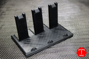 Knife Stand - Vertical Triple Knife Stand