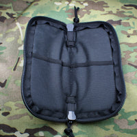 Medium Cordura Zippered Knife Pouch with Velcro Strip