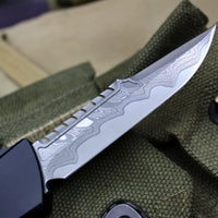 Marfione Custom Combat Troodon Interceptor Chad Nichols Damascus with Copper-Ringed HW 339-MCK DACU2