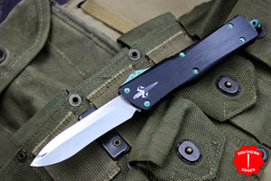 Marfione Custom Combat Troodon Recurve Mirror Blade and Two-Tone Green HW 319-MCK HPGR