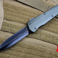 Marfione Custom OD Green Smooth Body Cypher DE Stonewashed DLC Blade and Blacked-out Hardware