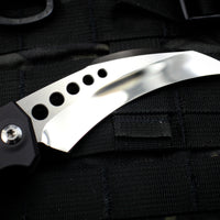 Marfione Custom HAWK Auto OTS with Mirror Blade and Satin HW