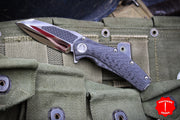 Consignment Marfione Custom Mini Matrix with Mirror Blade Carbon Fiber Inlay