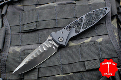 Marfione Custom Socom Elite Single Edge Special Borka Rock Grinds DLC BLADE 360-MCK SE DLC BORKA