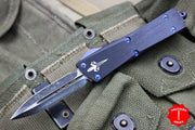 Marfione Custom Troodon Double Edge Two-tone Dark Matter with Purple Haze HW 338-MCK DMPH DE