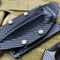 Marfione Custom Black MDT Fixed Blade DLC Double Vapor Blast