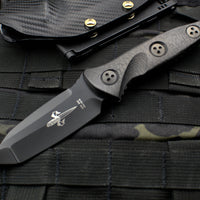 Marfione Knife Archive Serial Number 03! Custom Mini Socom Alpha Tanto Stonewash DLC Blade Carbon Fiber Handle