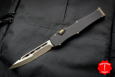 Marfione Custom Halo VI OTF Marfione Knife Archive Serial Number 03! Single Edge Compound Ground Bronze Blade