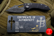 Marfione Knife Archive Serial Number 03! Custom Borka Stitch Auto Prototype Acid Wash CPM-3V