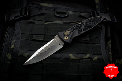 Marfione Custom Socom Elite AUTO Single Edge Special Borka Rock Grinds 360-MCK SE BORKA