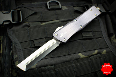 Marfione Custom Combat Troodon Battleship Grey Hardedge Satin Blade Two-Tone Satin HW