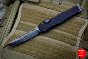 Marfione Custom Halo VI Single Edge Compound Ground Stonewashed Blade 351-MCK SESW