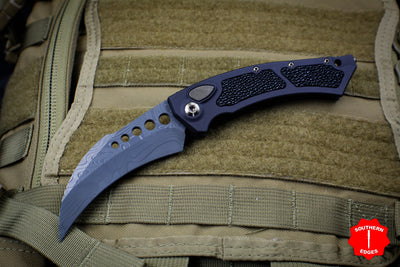 Marfione Custom HAWK with CTX XHP Core Damascus Blade and Bronzed HW