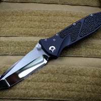 Marfione Custom Socom Elite Special Chisel Ground Tanto Edge Mirror Polish Stingray Inlay 360-MCK CHTE HP