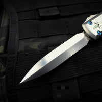 Marfione Custom Stainless Steel Ultratech OTF Double Edge SATIN Blade