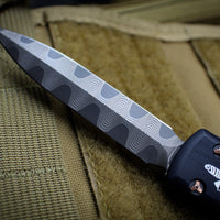 Marfione Custom Ultratech Double Edge Spike Grind Damascus with Cu Ringed HW