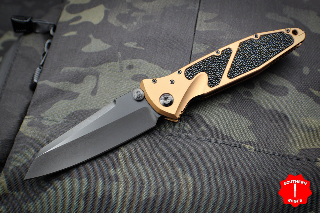 Marfione Custom Tan Warcom Socom Elite Warhound DLC Two-Tone Apocalyptic Finished Blade DLC Satin HW 508-MCK WAR TAN DLCTTAPOC