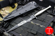 Medford FS Commando Fixed blade Titanium HandleFairnbairn Sykes Style WW2 Commando Knife