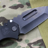 Medford Praetorian Scout M/P Blacked-Out Tanto Folder Black G-10 Handles