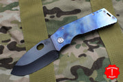 "Medford TFF-H Folder Factory Custom ""Gasoline"" Anodized Handle"