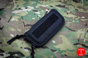 Small Cordura Zippered Knife Pouch with Velcro Strip