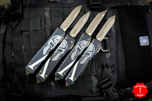 Microtech MOLON LABE SET OF 4 Ultratechs OTF Knife Bronze Blade