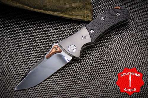 Marfione Custom MTX-3 Dual Action Carbon Fiber Mirror Polish Copper Accents