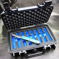 Pelican Eight Knife Case - Blue Interior