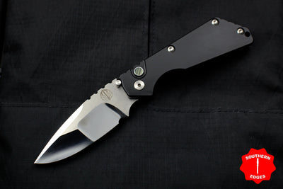 Protech Strider SnG Auto OTS Black Body Hand Compound Ground Mirror Polished Blade 2450