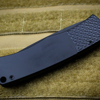 "Protech Magic ""Whiskers"" Out The Side (OTS) Auto Hidden Bolster Release Knife Black Body Black Blade BR-1.7"