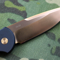 Protech TR-3 20TH Anniversary Rose Gold Tactical Response 3 Out The Side (OTS) Auto Knife Rose Gold HW PT20-002