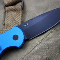 Protech TR-3 Blue Swat Tactical Response 3 Out The Side (OTS) Auto Knife TR-3 Blue Swat