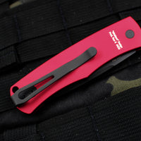 "Protech Magic ""Whiskers"" Out The Side (OTS) Auto Hidden Bolster Release Knife Red Body Black Blade BR-1.7 RED"