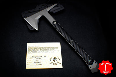 RMJ Tactical Ragnarok 14 Tomahawk Black Handle 14